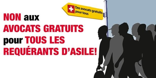 Non aux avocats gratuits pour tous les requérants d'asile